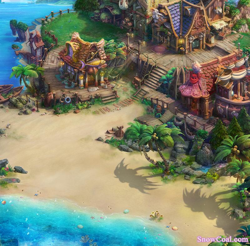 游戏 地图 素材