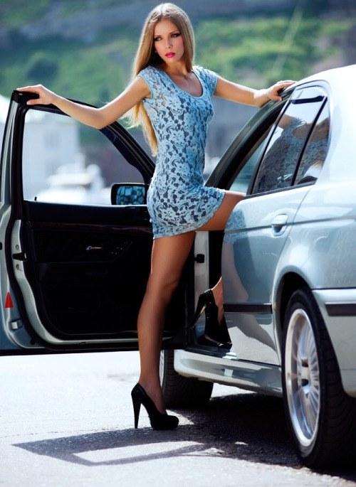 欧美车模,车模欧美