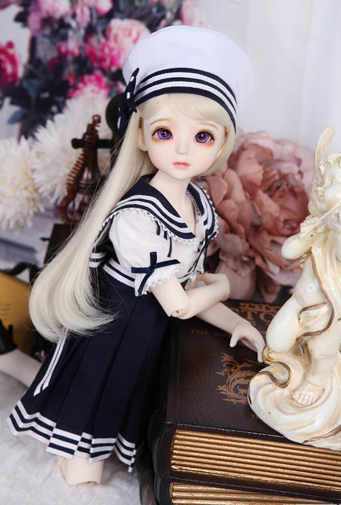 娃娃装扮 我是小海军