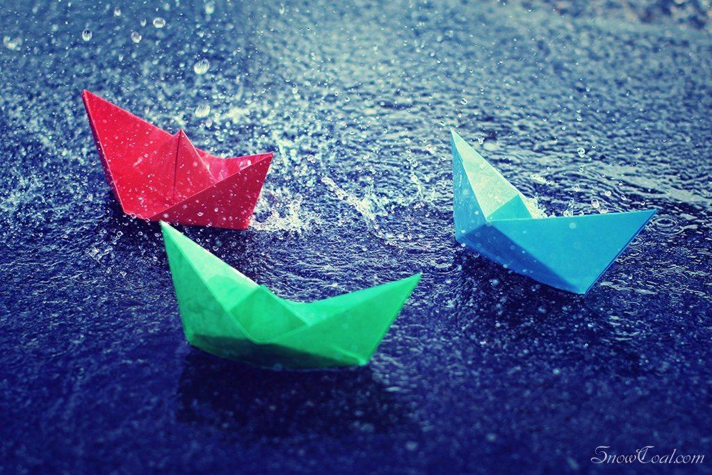 让我们荡起双桨 小纸船