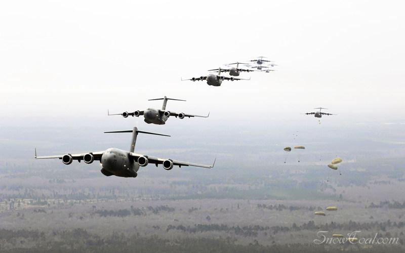 看灰机,军事大飞机
