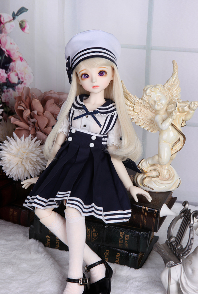 娃娃 玩偶 海军制服 娃娃装扮
