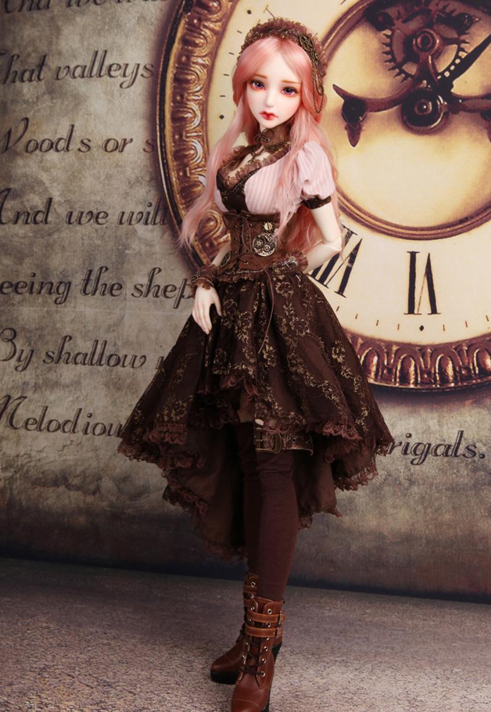 娃娃 人偶 化妆 美妆 女神