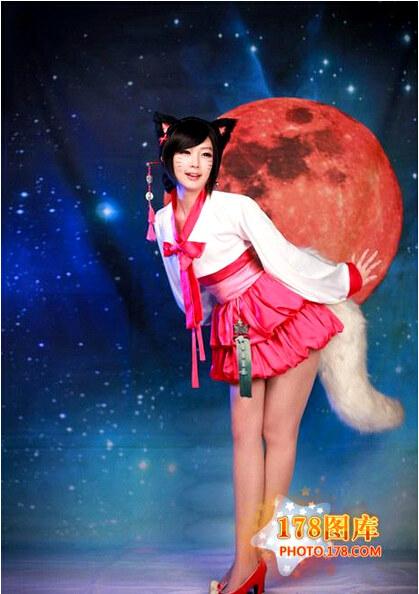 LOL 英雄联盟 cosplay 狐狸