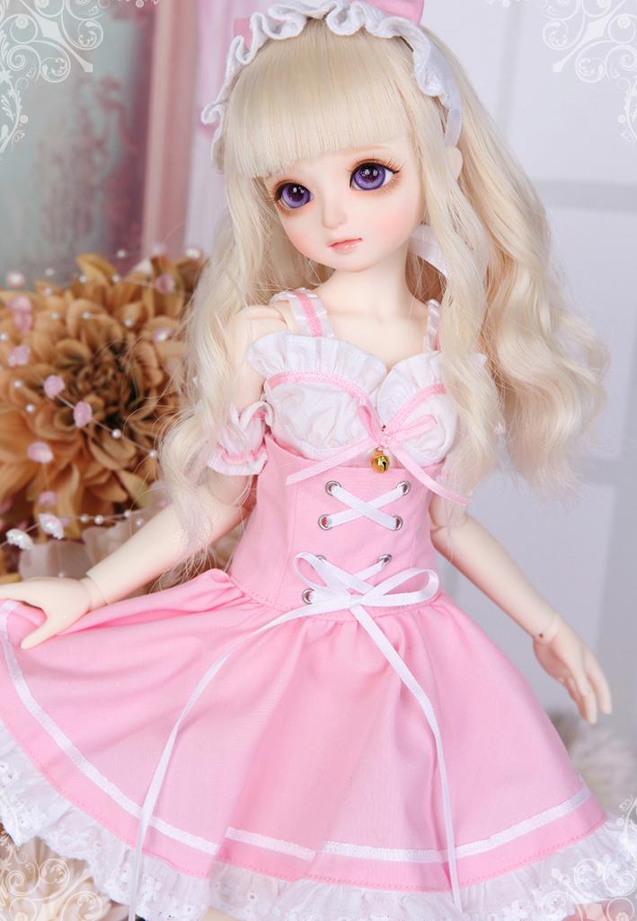 娃娃 玩偶 娃娃打扮 粉色系 卡哇伊