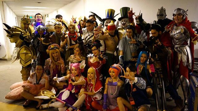 英雄联盟 cosplay