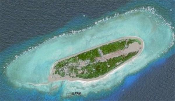 中国实际控制中的南海岛礁