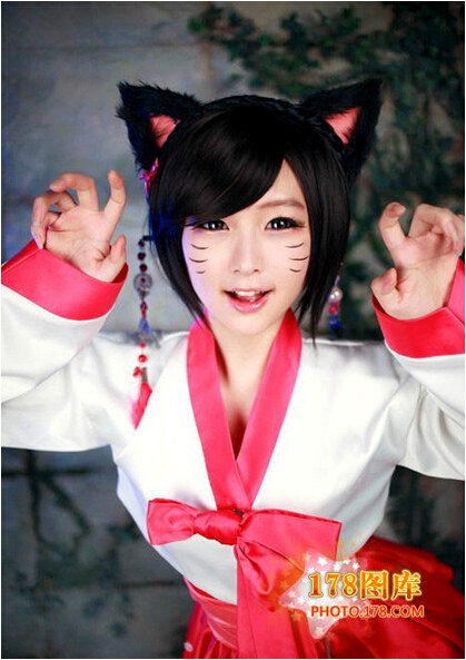《英雄联盟》cosplay性感的狐狸