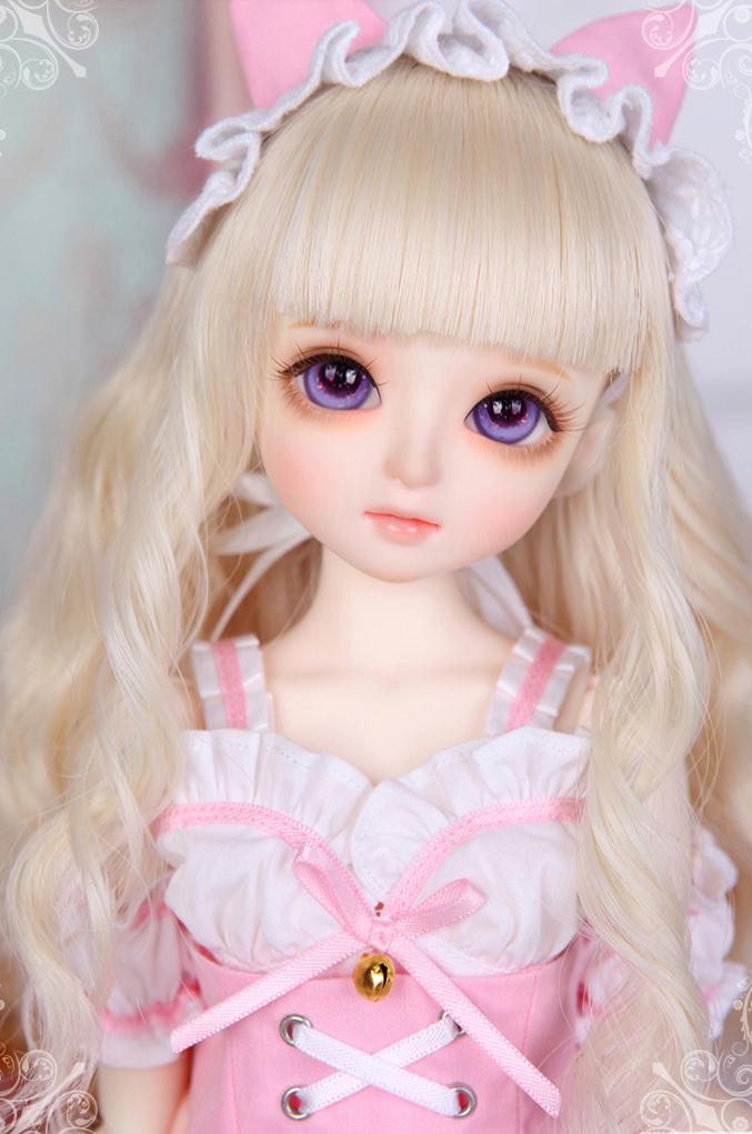 娃娃装扮 最美可爱粉色系