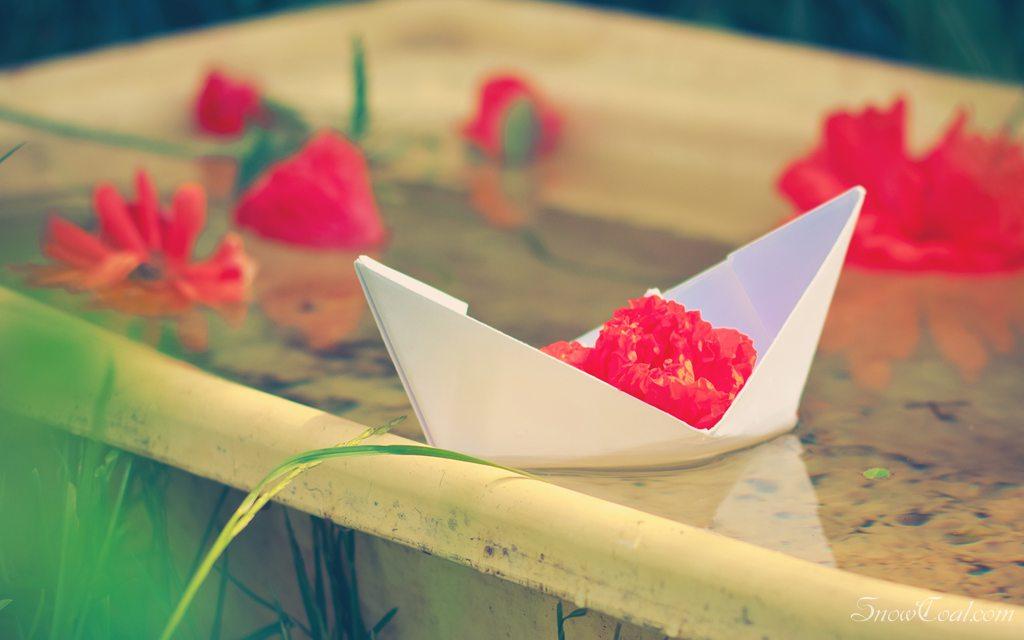 让我们荡起双桨 小船儿推开波浪