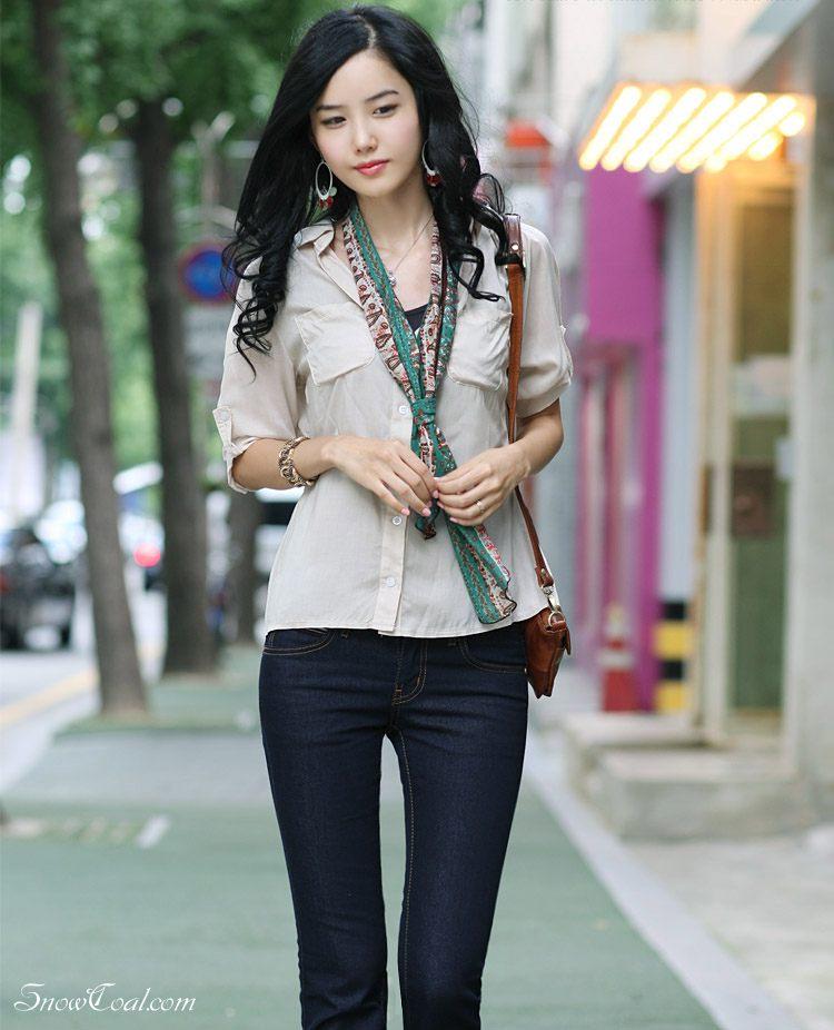 「街拍」 韩国美女 korea