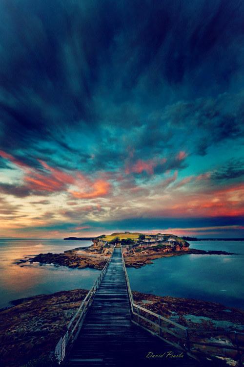 奇幻美景,国外摄影,天国的阶梯