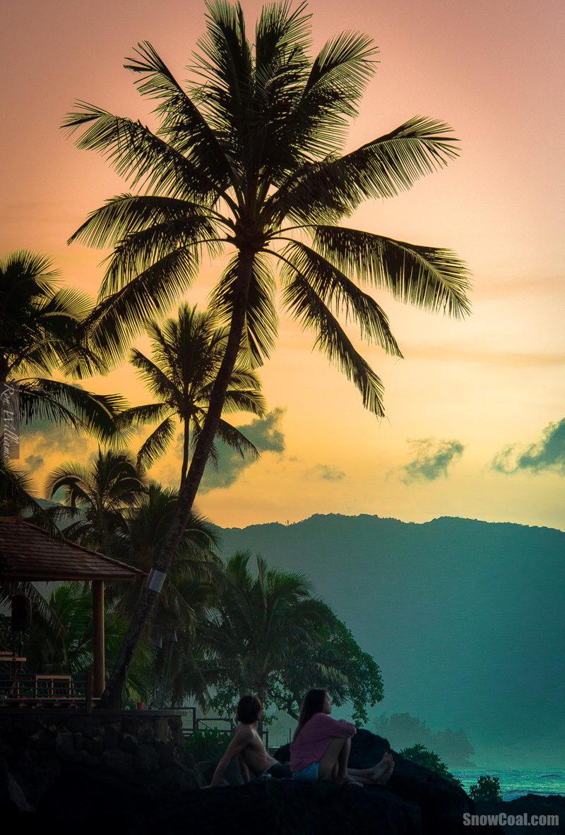 大自然美景-夏威夷热带海岛风光