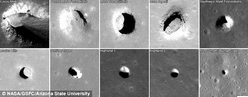 下一步人类移居月球 可住地下
