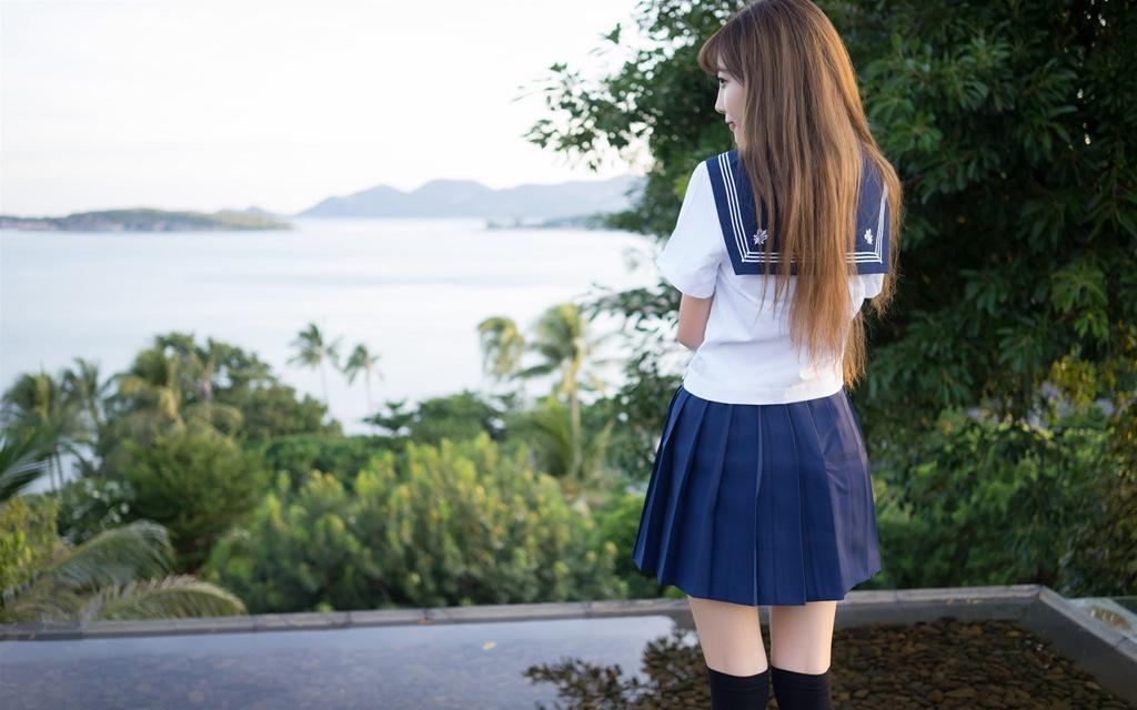 学生 制服 写真