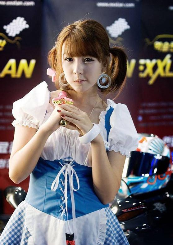 美女 车模 cosplay