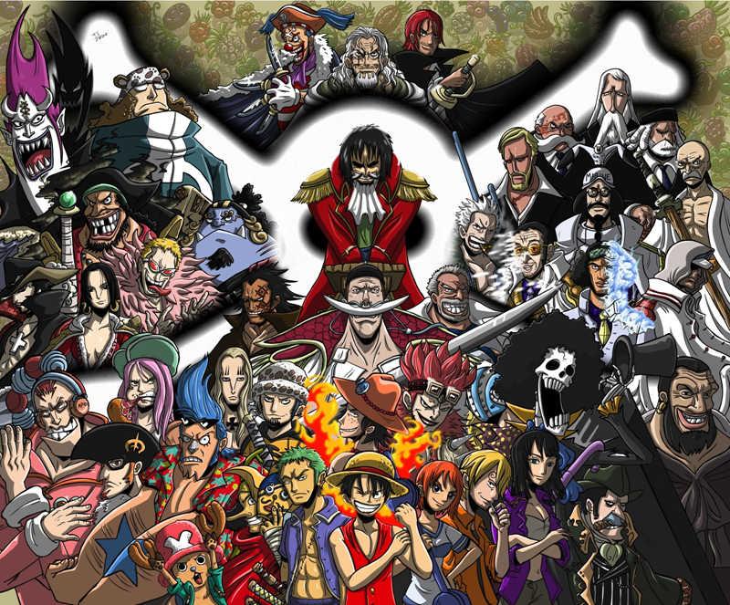 童年时代的海贼王小家伙VS海贼王里主要角色,动漫海贼王童年时代