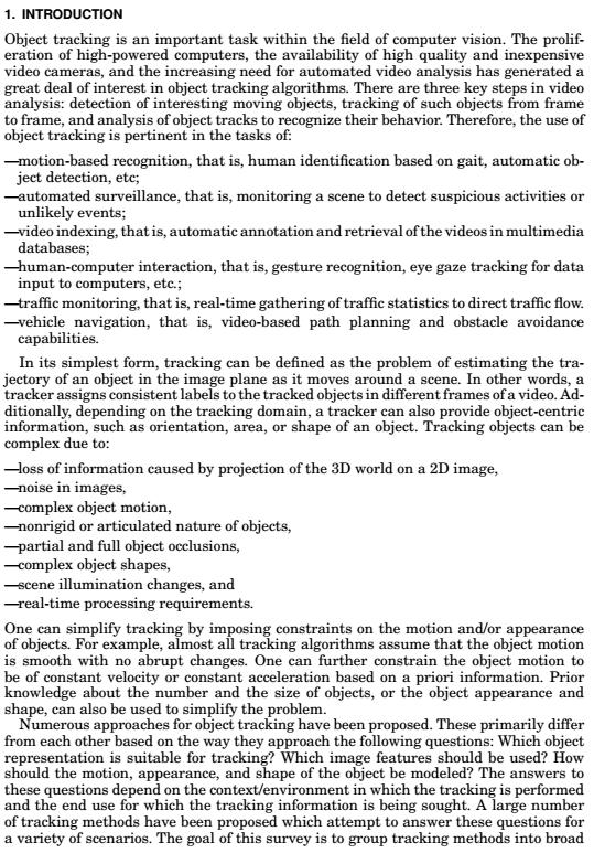 图像识别-物体追踪理论知识英文版