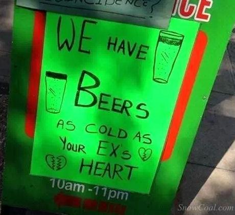国外酒吧创意奇葩广告词,看着我也是醉了![6]2015-02-08 00:30:59