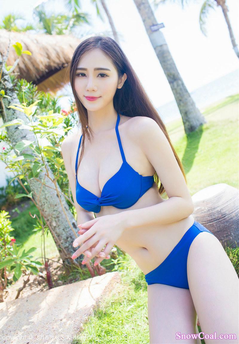 美女 沙滩 比基尼 写真