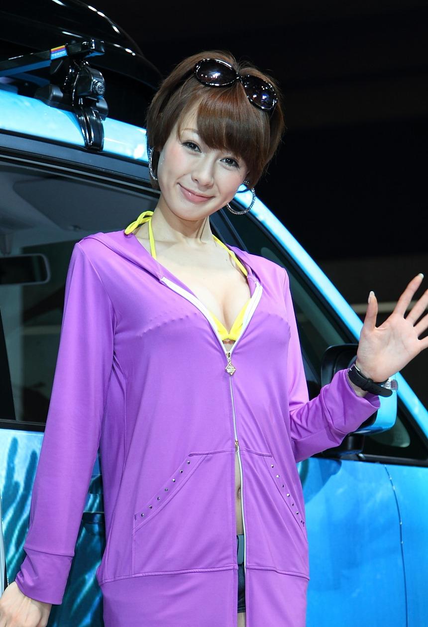 车模 中川知映さん