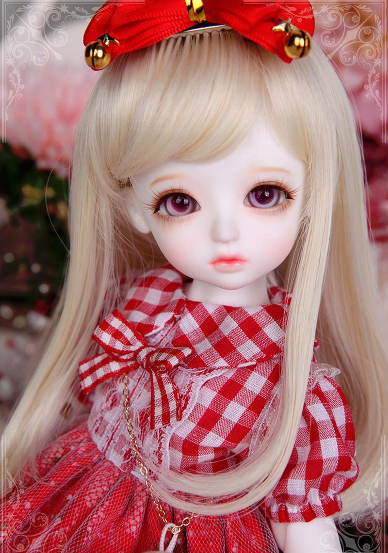 娃娃装扮 可爱的小萝莉