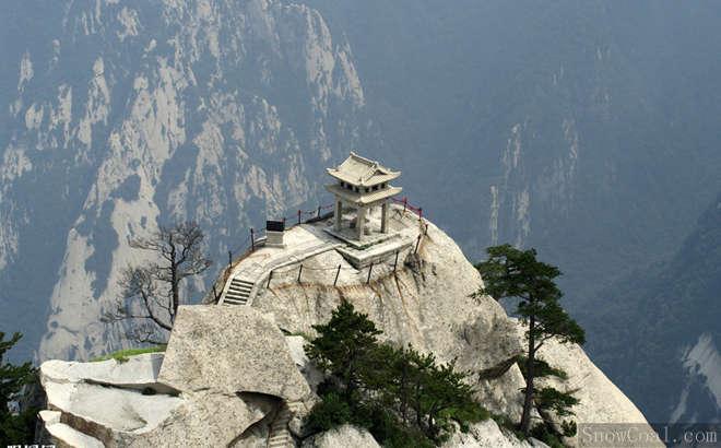 """西岳华山--""""险"""",风景旅游华山"""