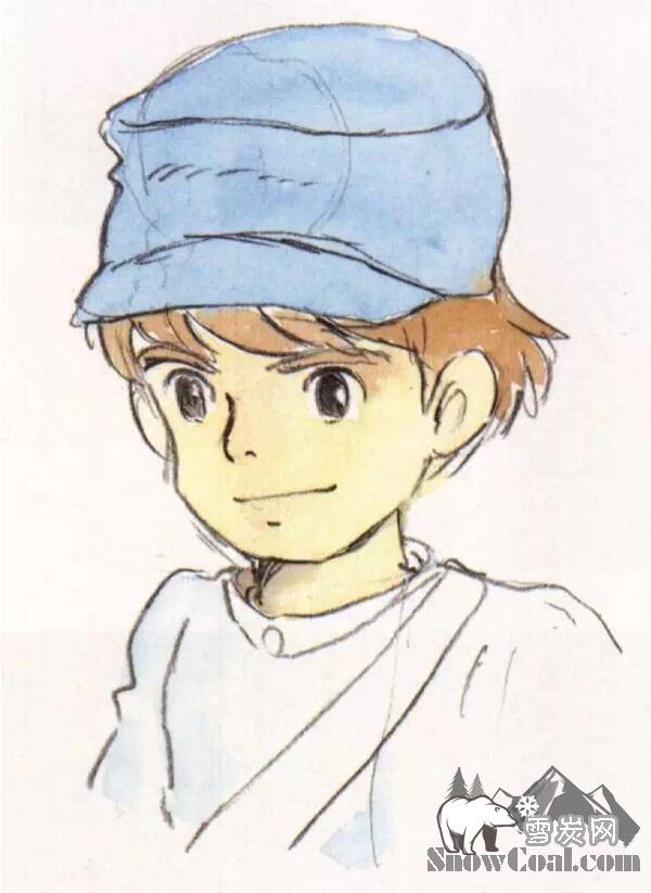 宫崎骏40年治愈系原画手稿,看完心都融化了!